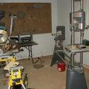 My workspace; Wood shop!