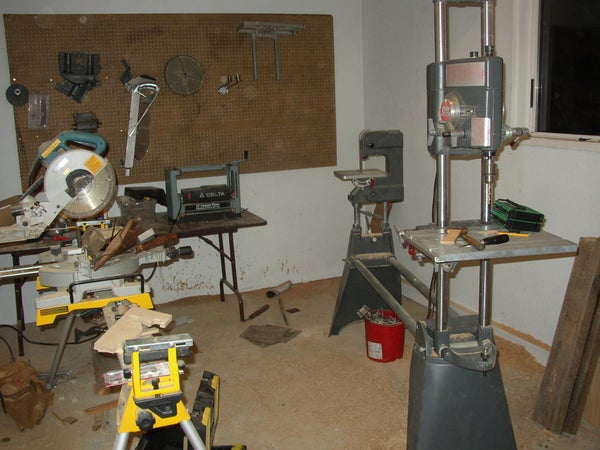My Workspace; Wood Shop!