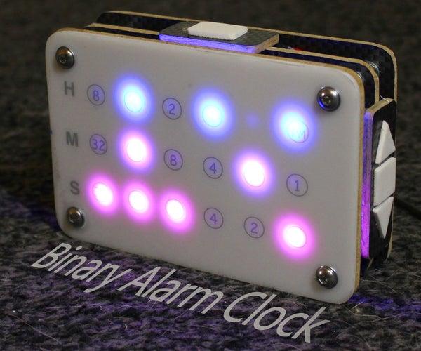 Arduino Based Binary Alarm Clock