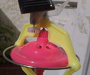Solar Powered Gyroscope