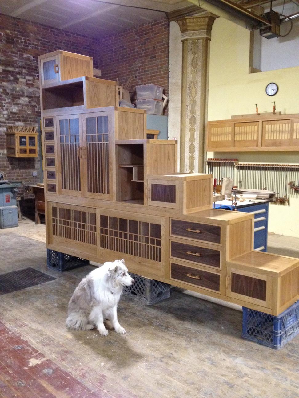 Nojo Design: Large Step Cabinet: February 2012