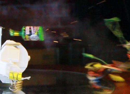 Motion Detecting Confetti Bomb
