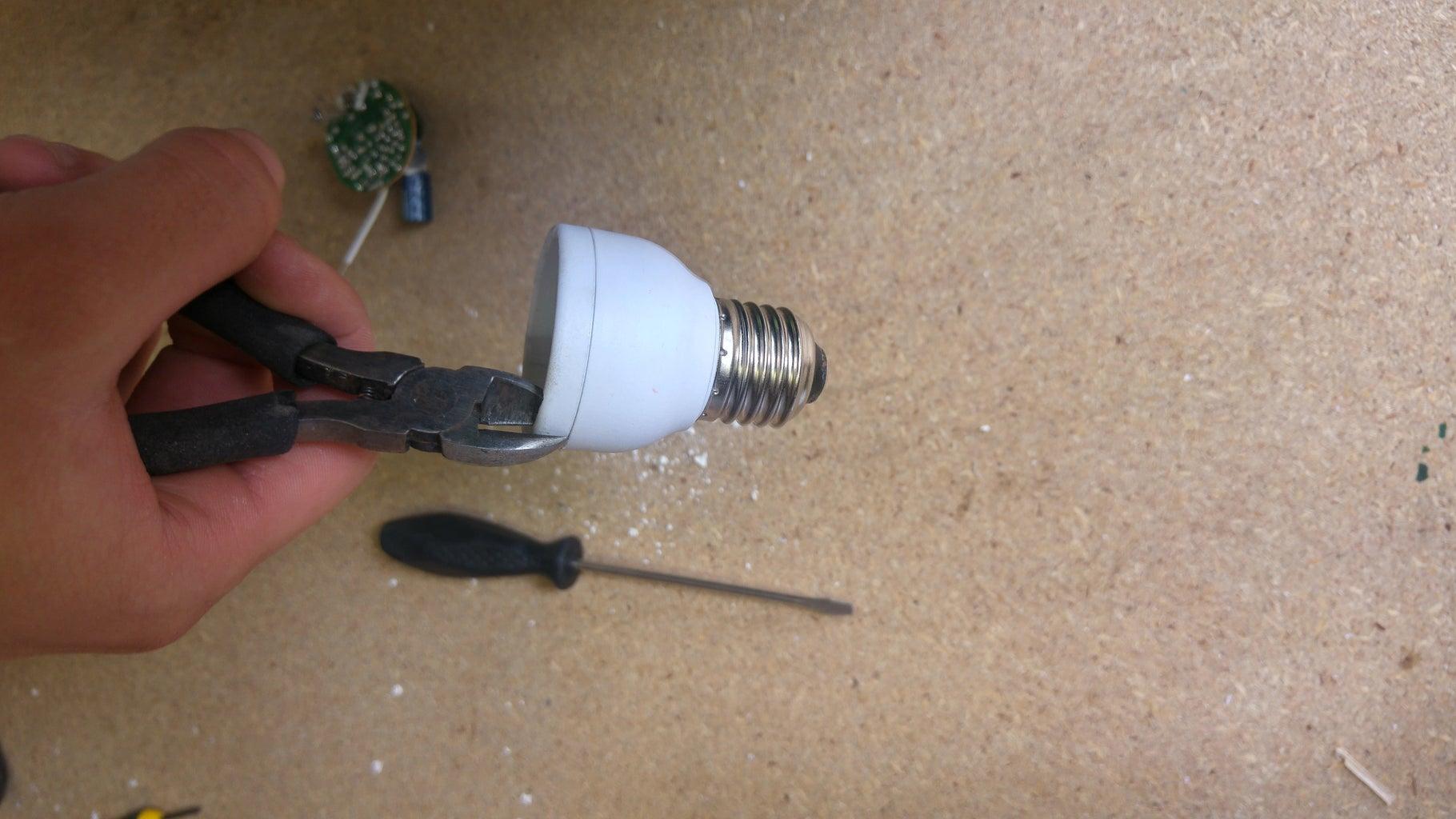 Demount the Light Bulb