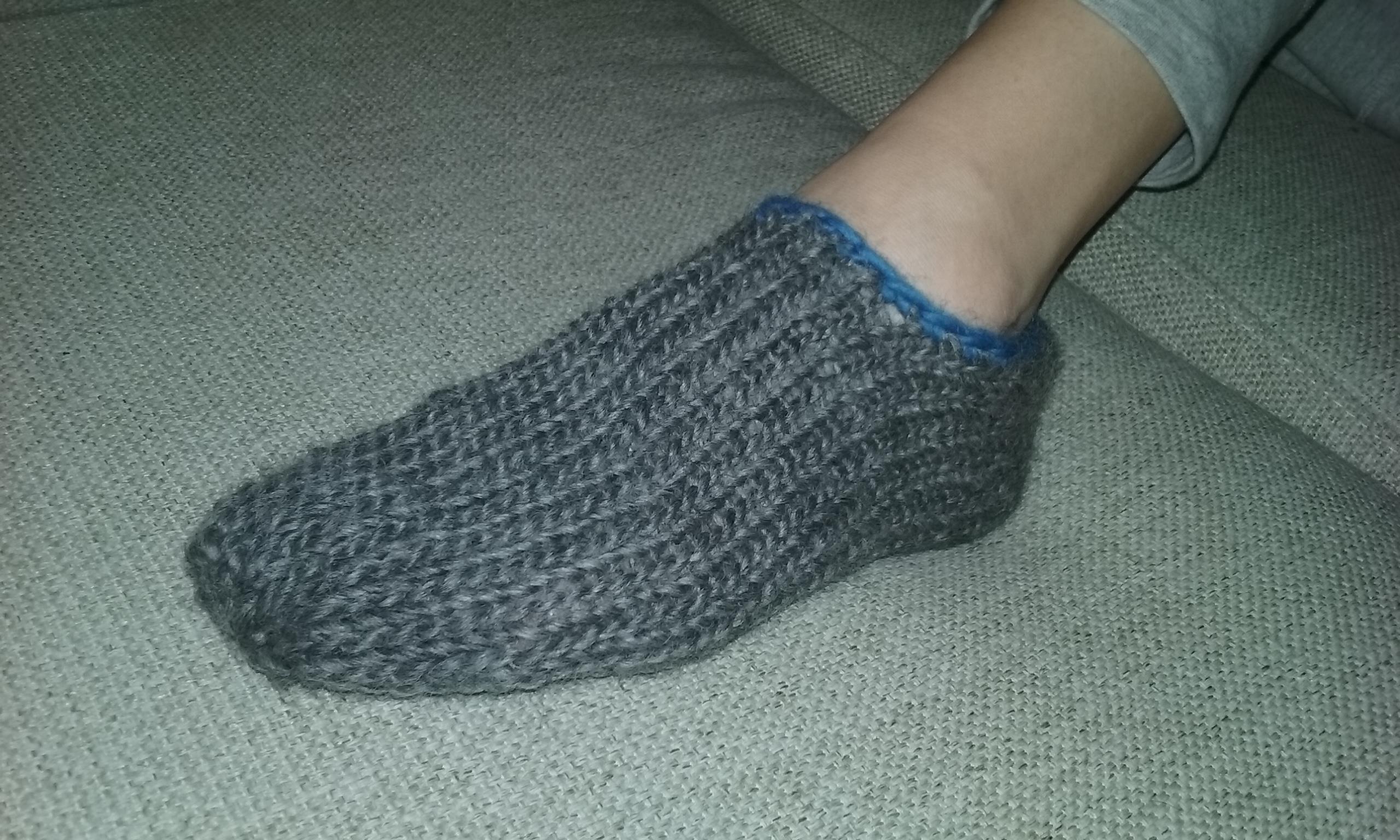 Ballerina slippers on the Addi Express