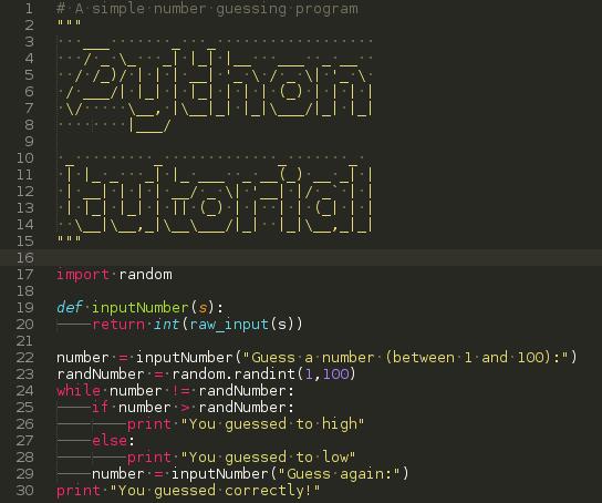 Python programming tutorial (Python 2.7)