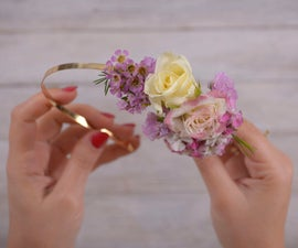 DIY With Flowers: Floral Headband