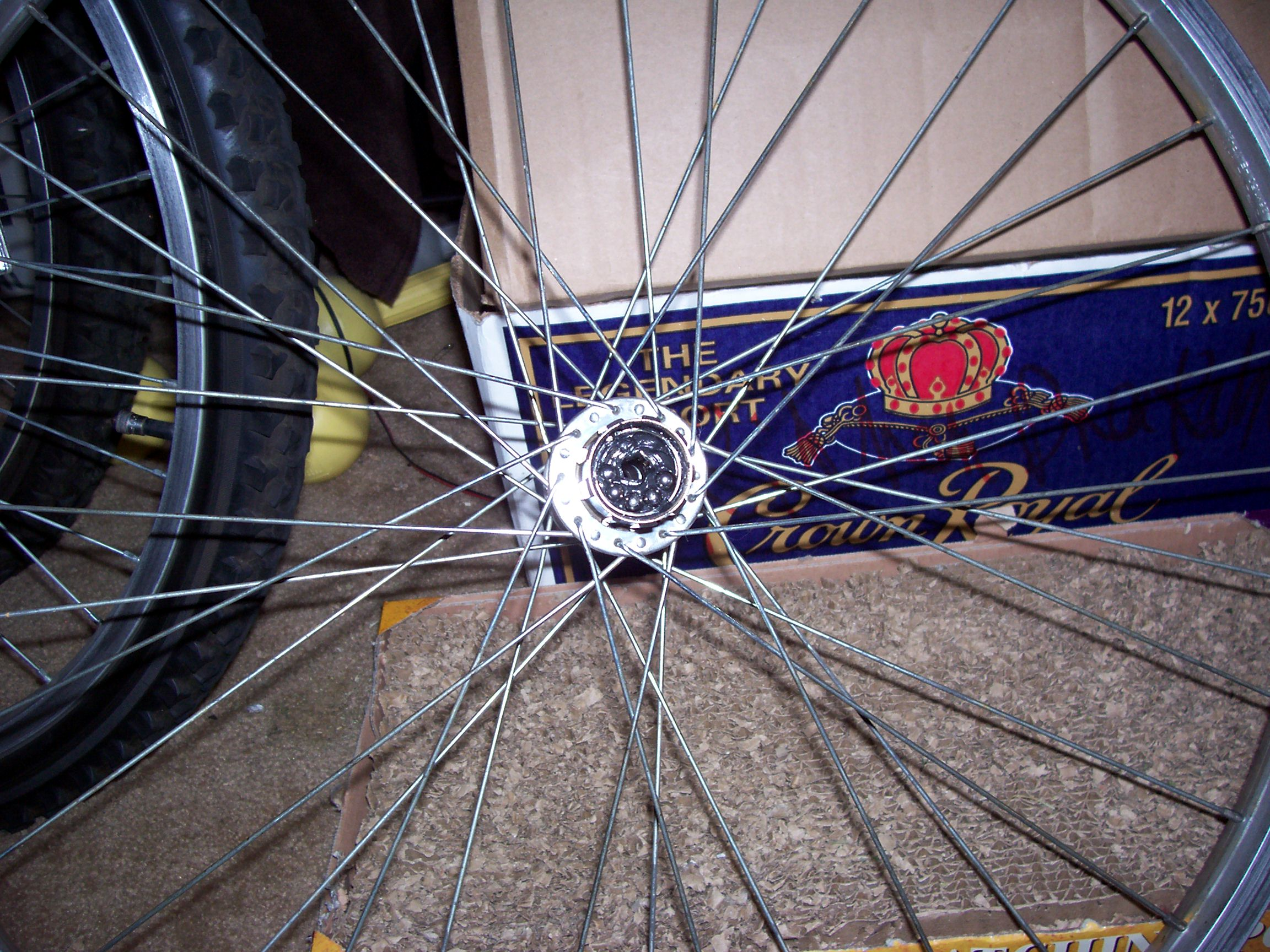 Rebuild A Bicycle Rear Hub 13 Steps With Pictures Instructables