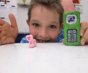 Make a Toy Cell Phone!