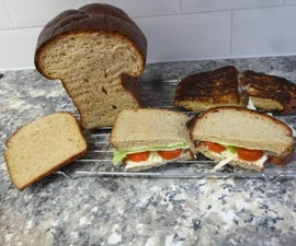 Keto Low Carb Bread Which Tastes and Slices Like Normal Bread; Great for Healthy Sandwiches, Toast and Tasty Toasties