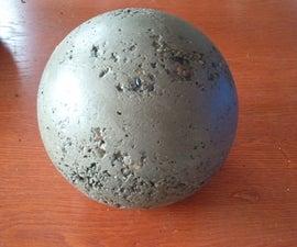 Making Concrete Balls