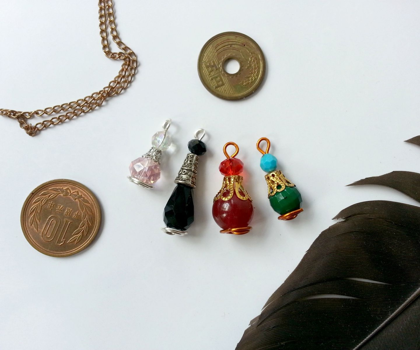 DIY Mini Potion Bottle Charms