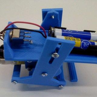 3D Printed Walking Robot
