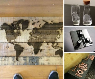 Etching & Engraving Projects