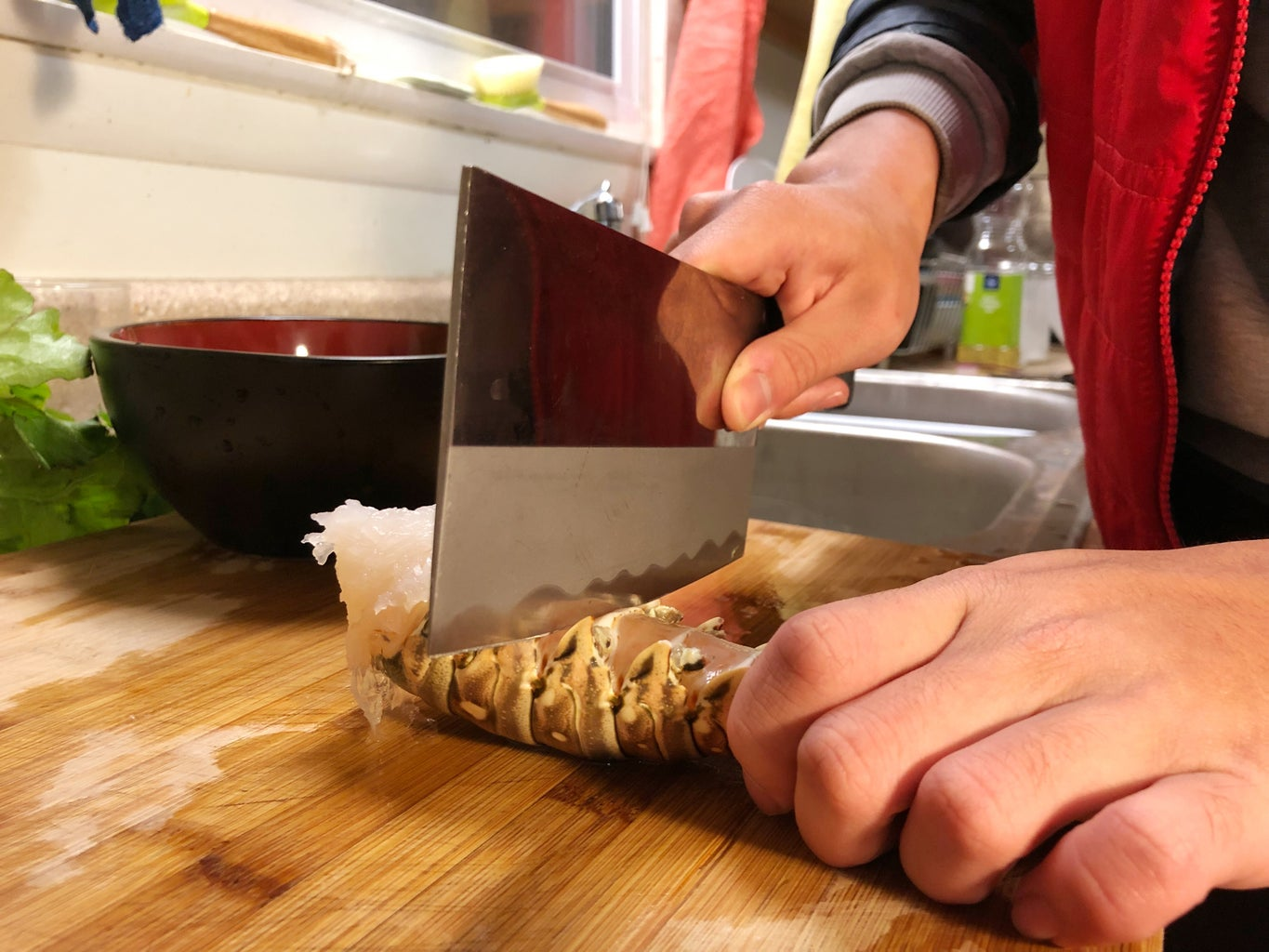 Main Procedures - Clean and Prepare Lobster Tails