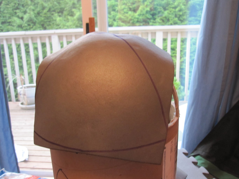 Making the Skull Cap