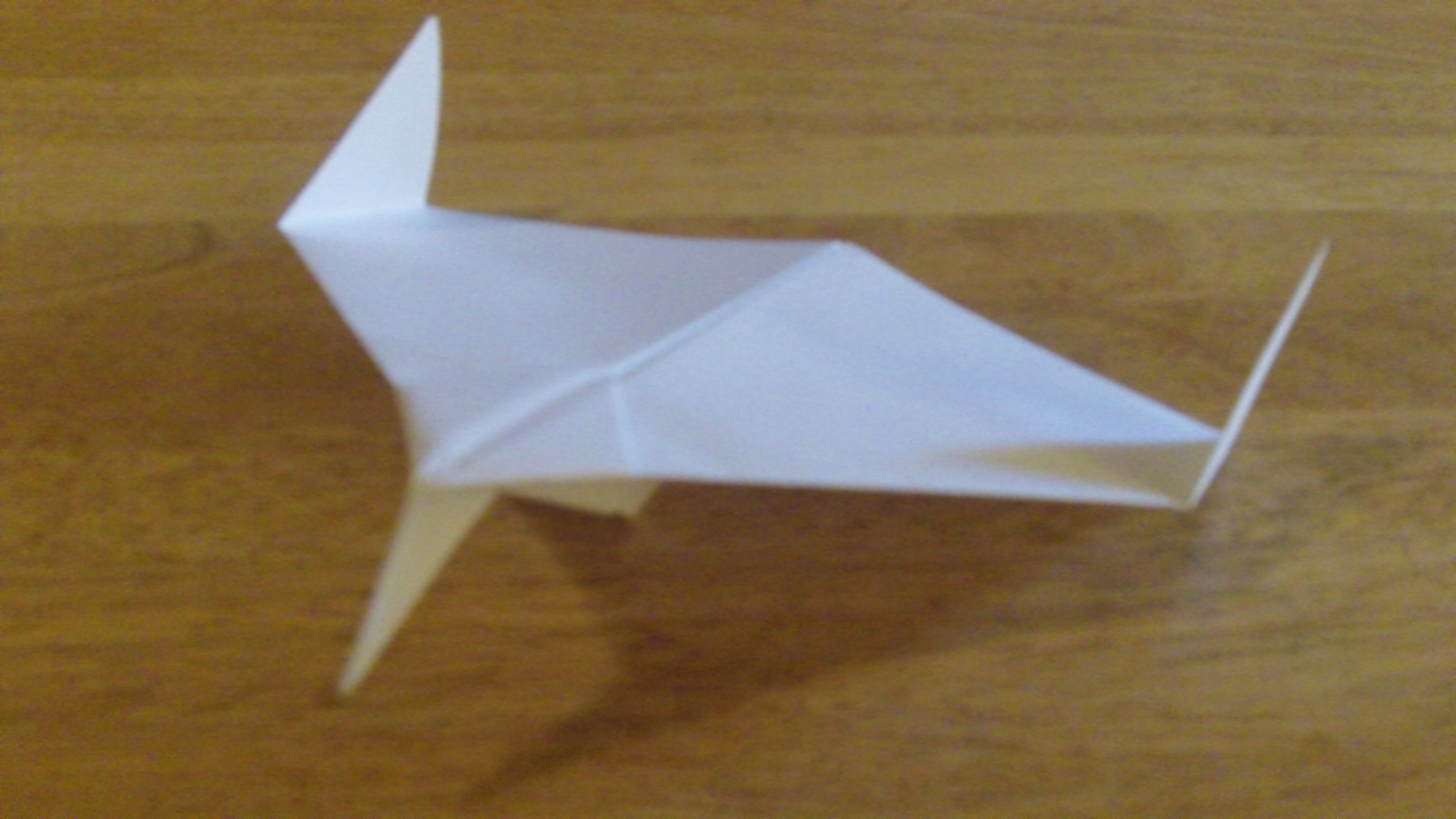 How To Make The Pelican Paper Airplane