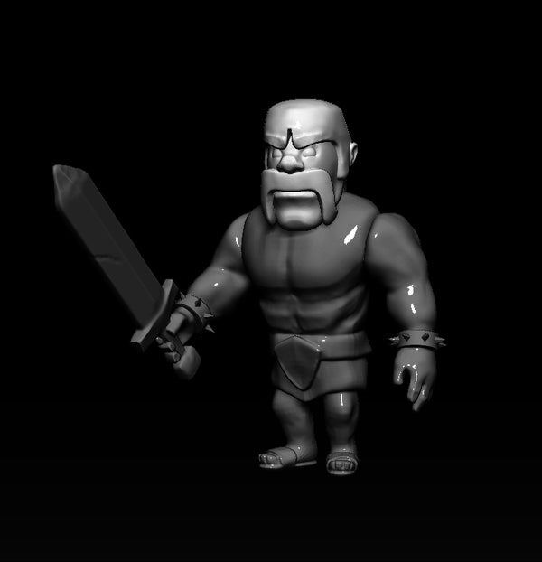 Clash of Clans LV.1 Barbarian