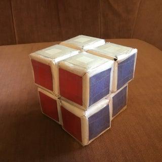 2x2x2 Paper Rubik's Cube #HMS2018