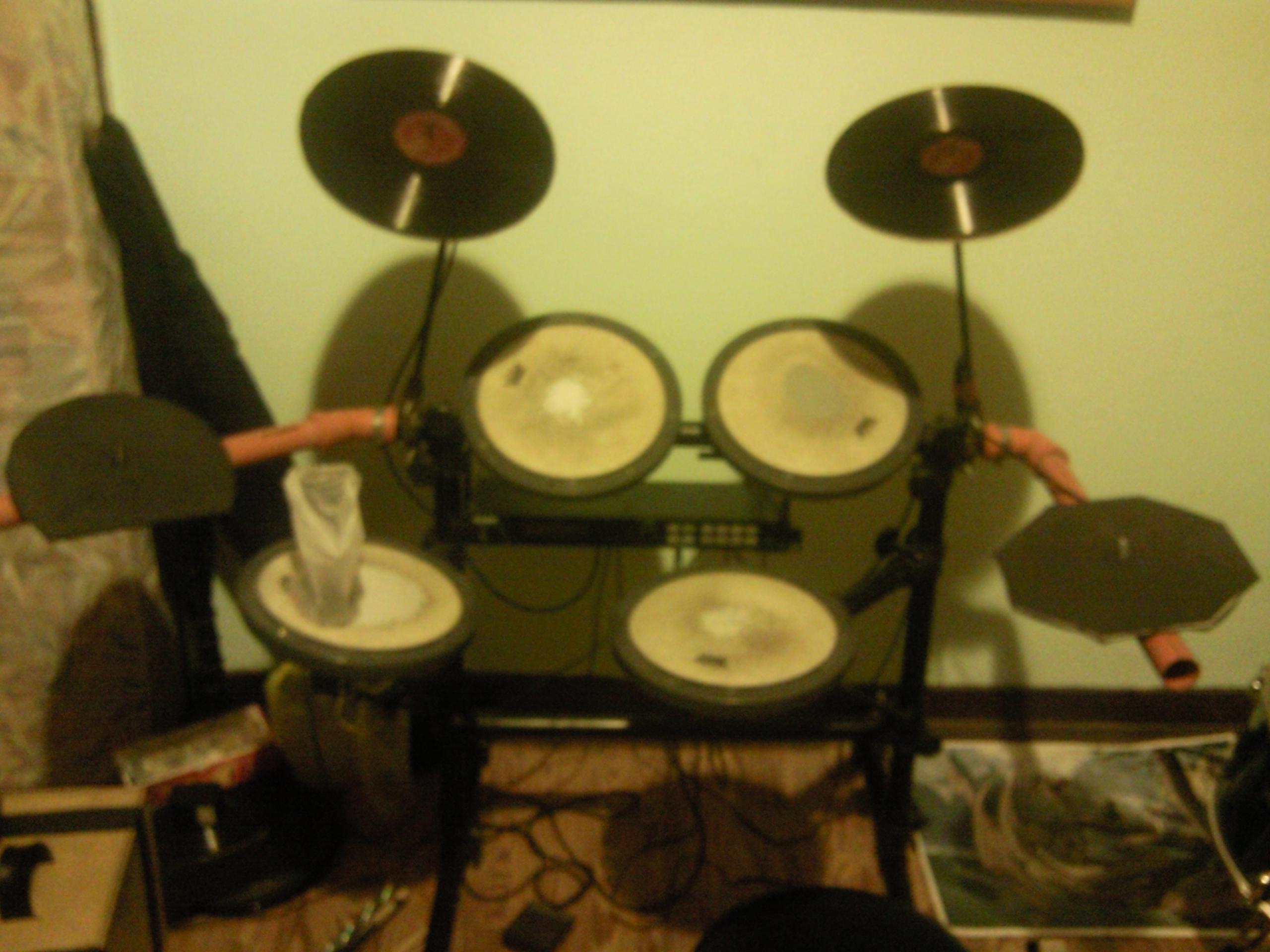 homemade electronic drumkit