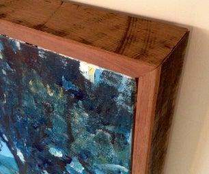 Floating Frame for Canvas