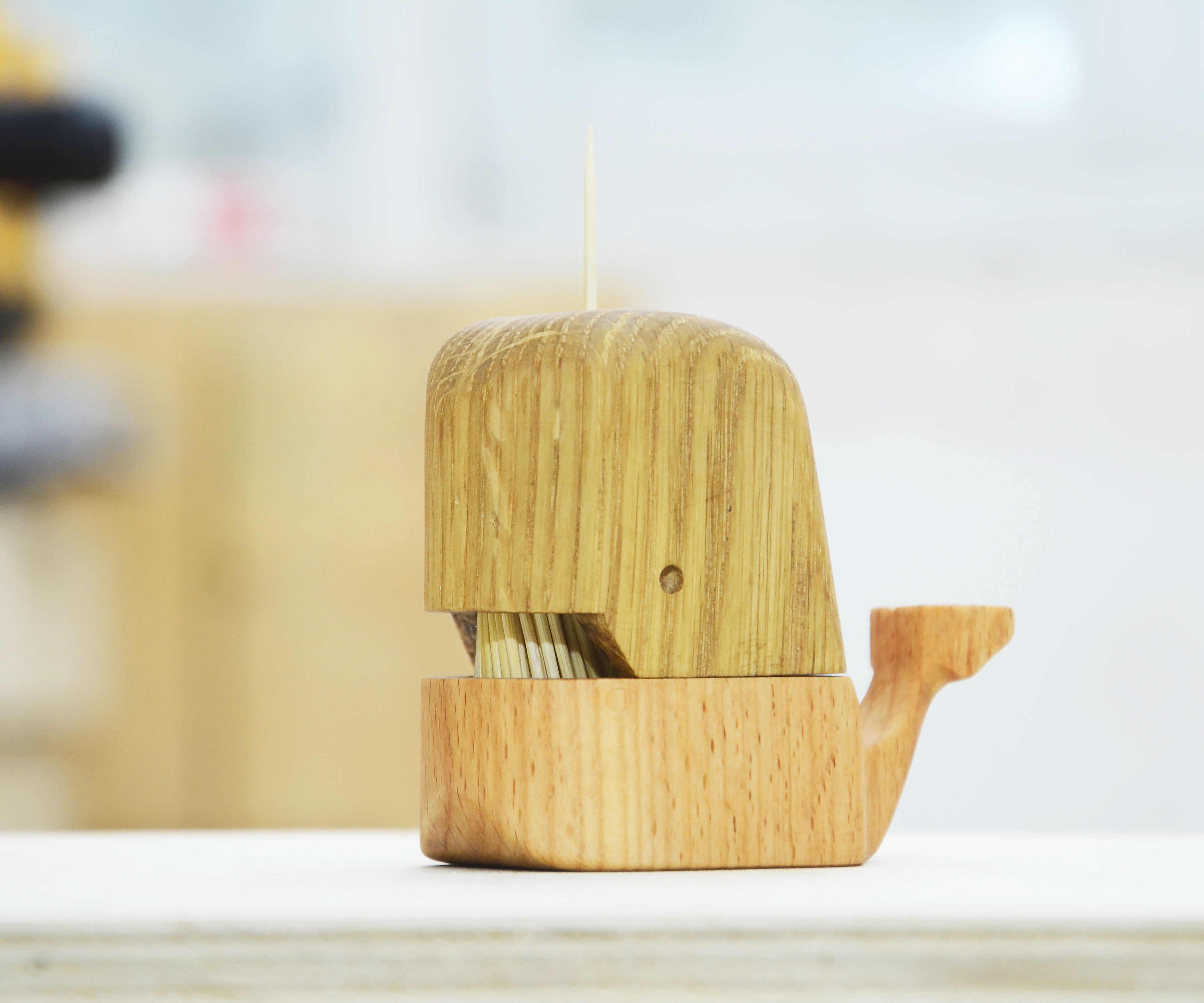 Making a Whale Toothpick Holder