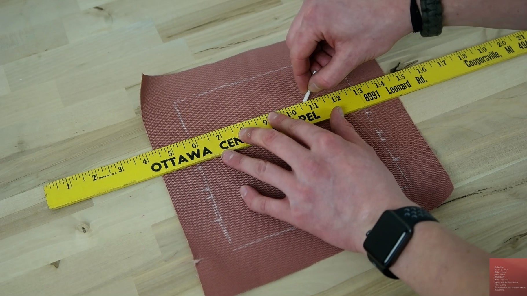 Trace Pattern and Cut
