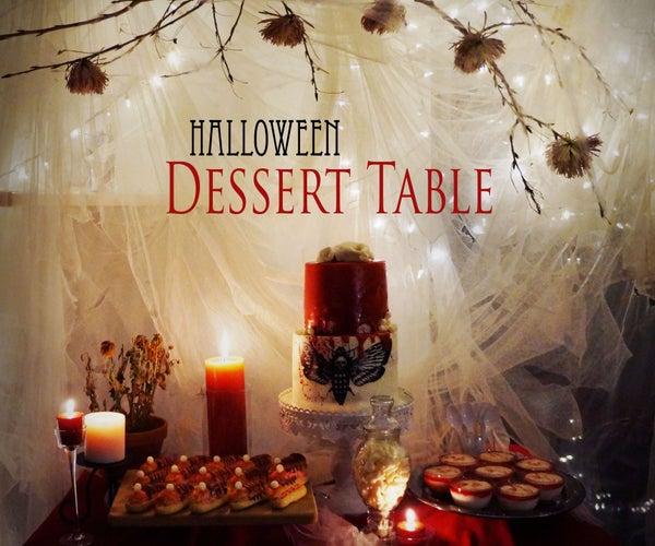 Halloween Diaries: Dessert Table