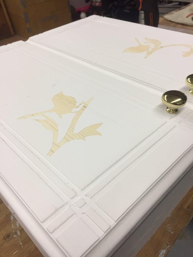 Painting the Doors & Varathane