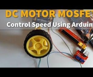DC MOTOR MOSFET Control Speed Using Arduino
