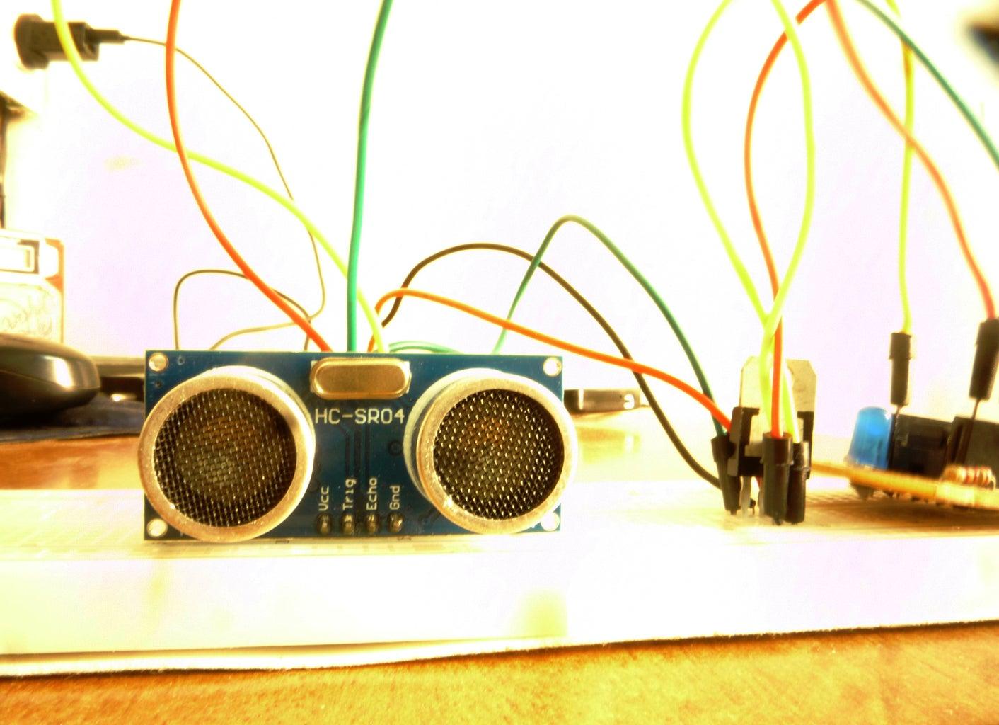 Using Sensors Like Ultrasonic Sensor