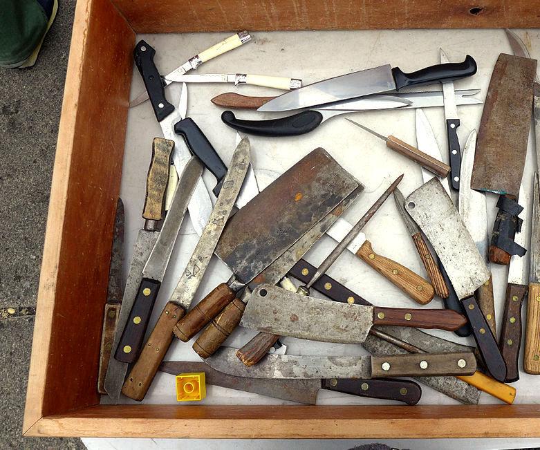 Cómo restaurar viejos cuchillos de cocina