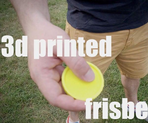 3d Printed Tiny Frisbee