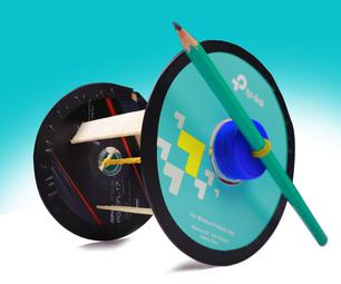 回收cd用于赛车