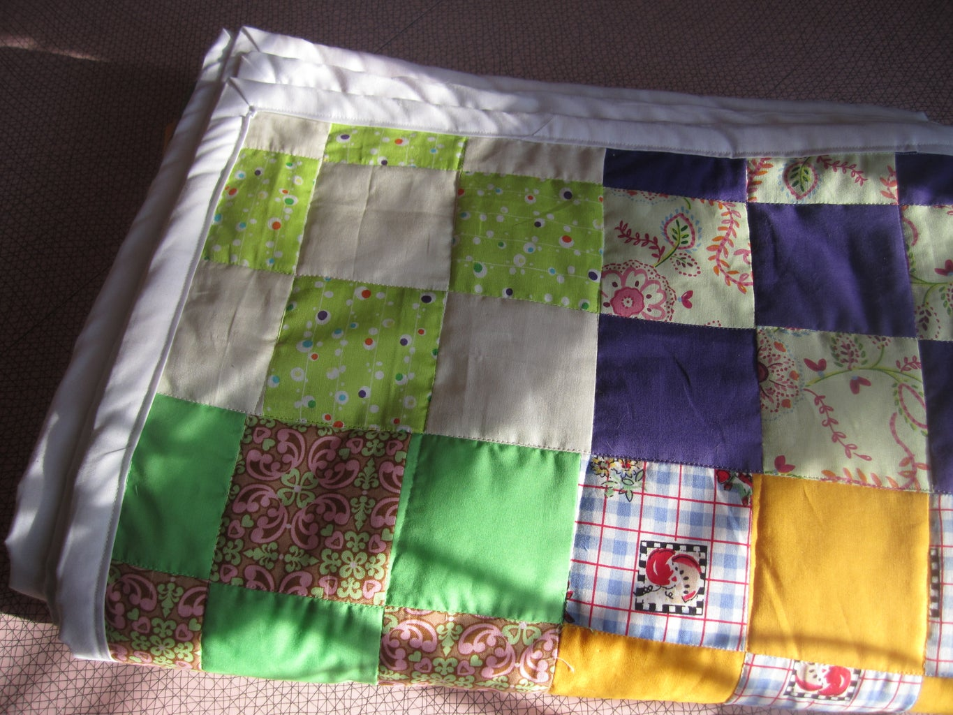 More Photos of the Finished Quilt.