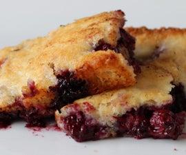 黑莓脆皮饼