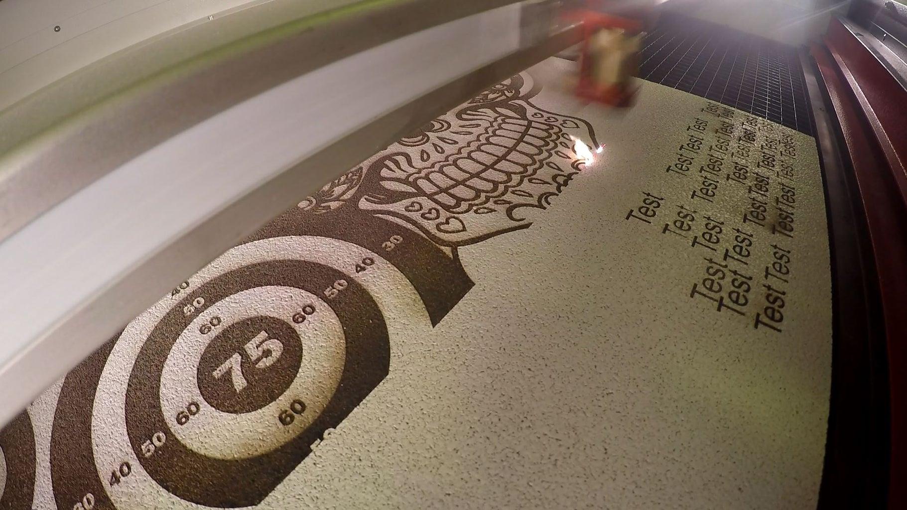 Engrave the Cork