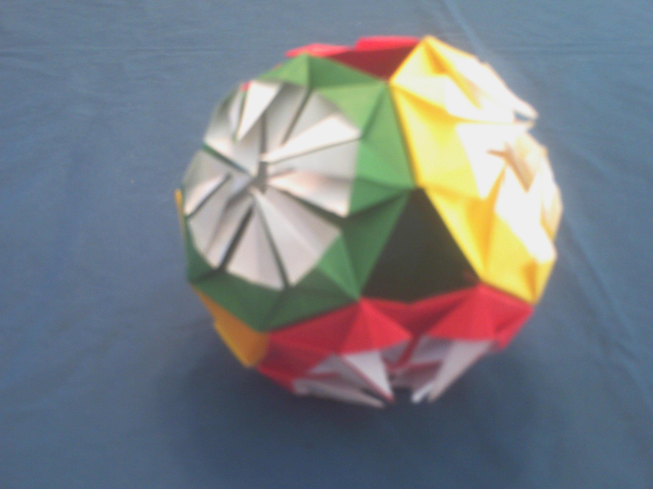 Pretty Origami Paper Ball