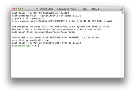 Determine the IP Address and Ssh Into It