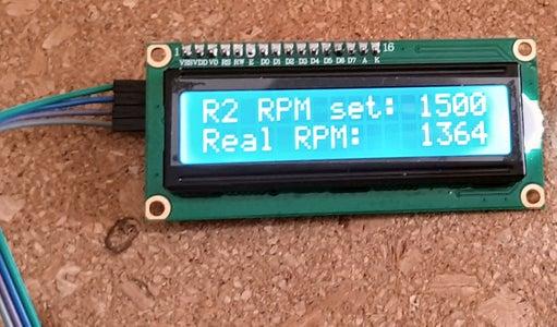 Motor Control #6 - LCD Display