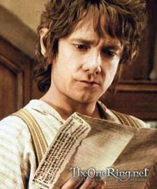 Painting of Bilbo Baggins