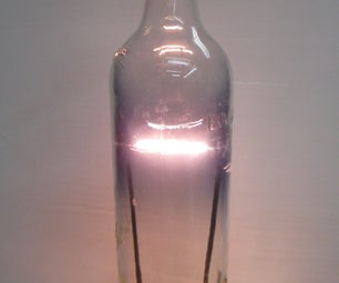 Bottle Light Bulb AKA Bacardi Bulb