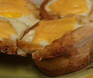 "Reconstructed Egg Sandwich OR Egg McMuffin ""Muffins"""