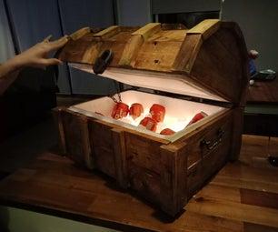 Treasure Chest Cooler Box