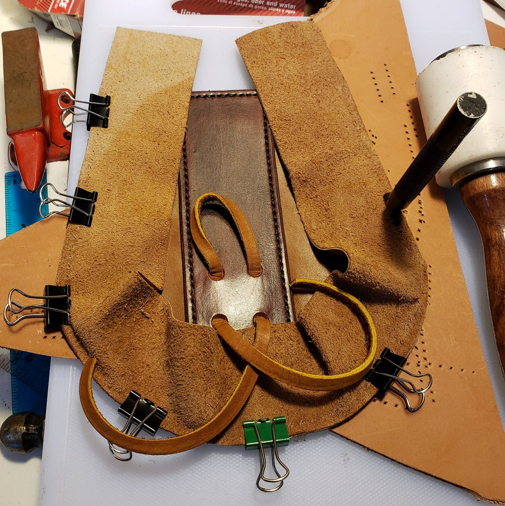 Attaching the Gusset to the Front Panel
