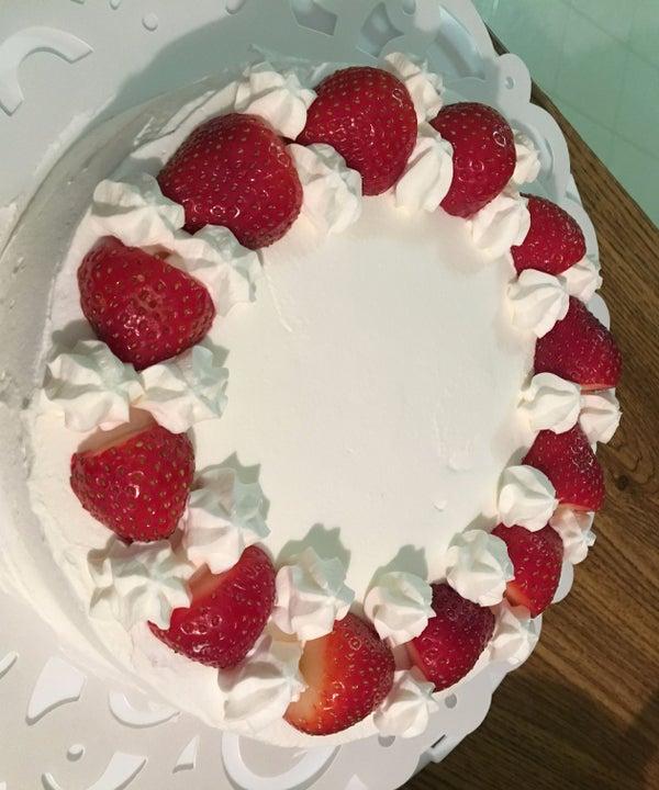Japanese Style Strawberry Short Cake