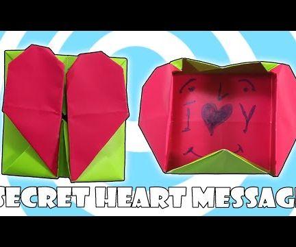 Origami Secret Heart Box