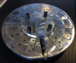 Precision 2-sided Workholding Fixture Using Lang 96mm Quick-Point Clamping Studs