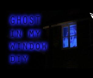 Ghost Hologram Projection in Window