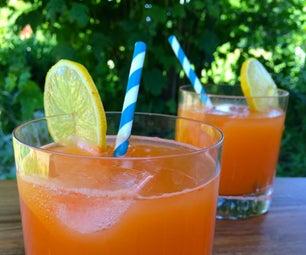 Honey-Sweetened Carrot Lemonade