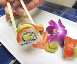 Rainbow Roll (Sushi)